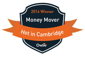 Owler HOT in Cambridge Award